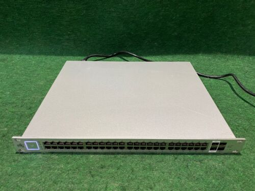 Ubiquiti UniFi Switch 48 Port Managed PoE+ Gigabit Switch (US-48-500W)