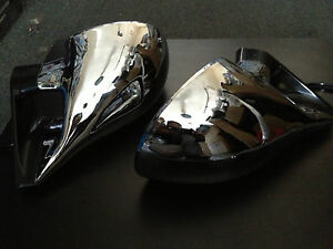 FORD FALCON AU BA XR6 XR8 CHROME ELECTRIC MIRROR ne