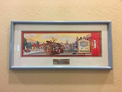 Very Low Number  176 Mickeys Toontown Disneyland Park Unused Mint Ticket 1993