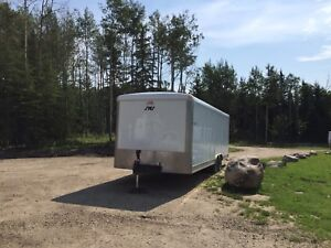 2016 SWS CAR HAULER ENCLOSED TRAILER 24'