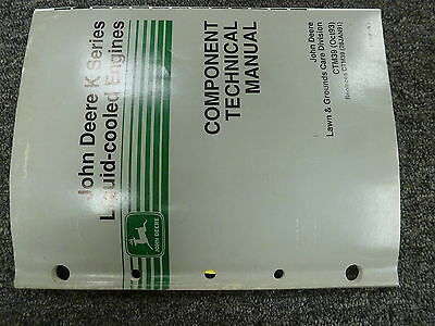 John Deere Fd620das11 Engine In 6x4 Gator Shop Repair Technical Manual Ctm39