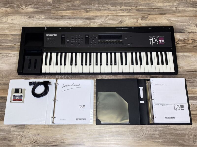 Ensoniq EPS 16+Plus Sampler In Very Clean Condition Fully Functional Super Nice