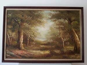 BUSH TRACK PAINTING Terrigal Gosford Area Preview
