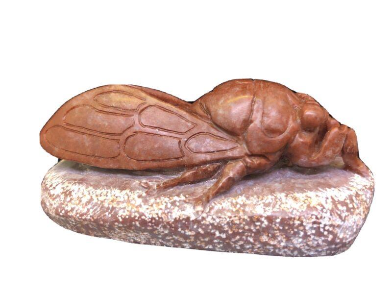 cicada figurine carving