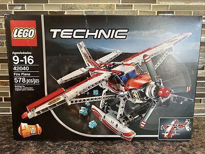 LEGO Technic Fire Plane 42040 New in Box