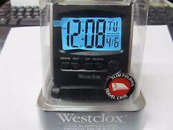 Westclox Travel Alarm Clock  LCD Display #72028   NEW