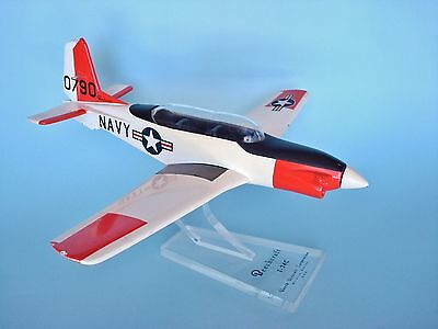 "Vintage Beechcraft NAVY T-34C ""Turbo Mentor"" Desk Top Model Airplane"