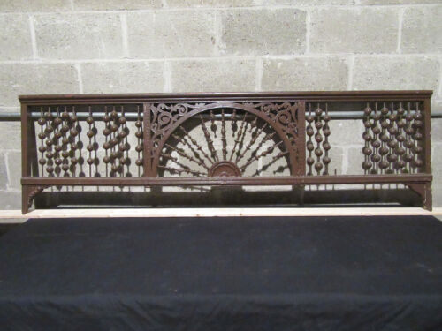 ~ BEAUTIFUL ANTIQUE STICK AND BALL FRETWORK ~ 72 X 21 ~ ARCHITECTURAL SALVAGE