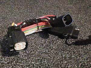 harley trailer wiring harness ebay rh ebay com motorcycle trailer wiring harness kit motorcycle trailer wiring harness adapter