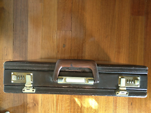 Brown Leather Briefcase Mordialloc Kingston Area Preview