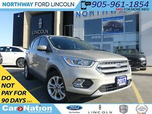2017 Ford Escape SE | NAV | REAR CAM | AWD | HTD SEATS |
