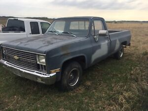 1981 Chev pickup project truck $850.