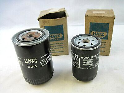 New MANN W940 Oil Filter & KNECHT AWK12/1 Fuel Filter for HATZ Diesel 2L30S Eng.