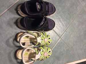 Youths girl's 13* sneakers and sandals
