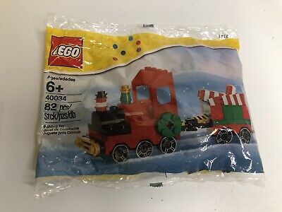 Lego 40034 Seasonal Christmas Train 82 Pcs Brand New Sealed In Polybag Ages 6+