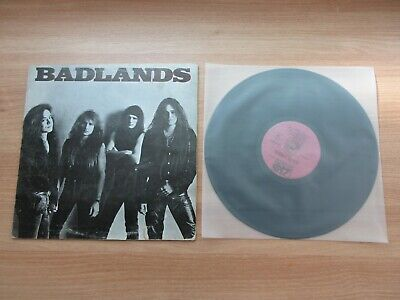 Badlands – Badlands Korea Mono Back Cover LP RARE