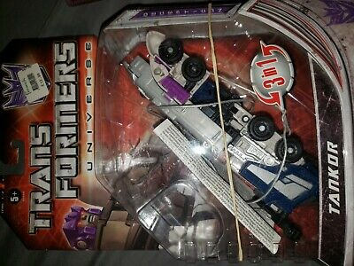 Transformers Universe Deluxe Tankor Octane Generations Classics  used open