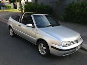 2001 VW Golf Cabriolet Varsity Lakes Gold Coast South Preview