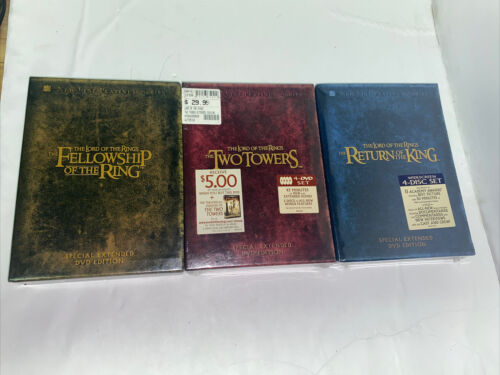 The Lord Of The Rings Trilogy Special Extended Edition 12-DVD Box Set LOTR - $49.99