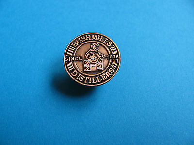 Bushmills Scotch Whisky / Whiskey Pin Badge. VGC. Unused