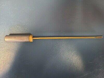 Eldorado Gun Drill .255 1 Flute Coolant Through Carbide Tip
