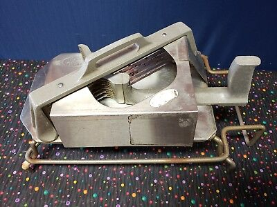 Commercial Tomato Slicer Cutter 14 Heavy Duty Industrial Tomato Tamer Used