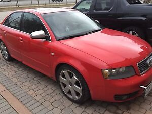2005 audi S4 best offer takes it Friday!