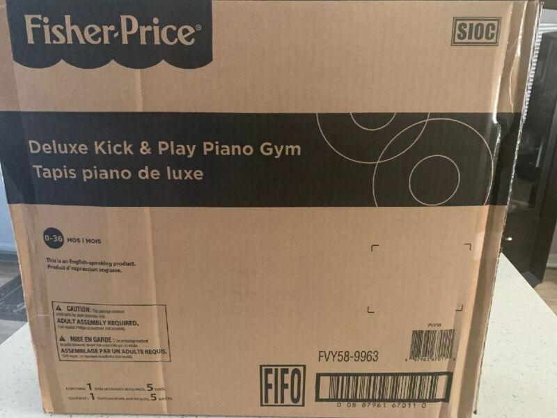 Fisher-Price Deluxe Kick