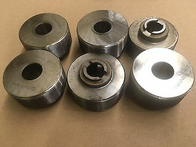 Fette Thread Rolling Dies For T27 Tangential Attachment 9 Sets