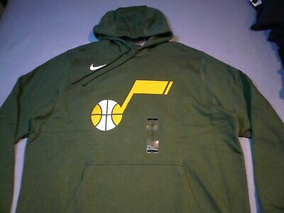 Utah Jazz Logo (Nike Utah Jazz Earned Essential 2XL BRAND NEW NBA Hoodie City Logo Club XXL)