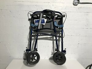 "DRIVE MEDICAL CELVER LITE ROLLATOR WALKER- 8""WHEEL- mnx"