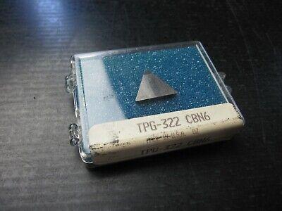 1 Tpg-322 Cbn6 Diamond Carbide Inserts