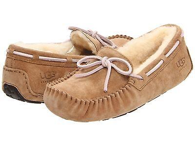Women's Shoes UGG DAKOTA Moccasin Indoor/Outdoor Slippers 5612 TABACCO