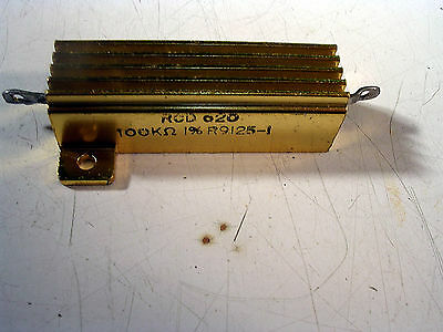 Rcd 620 50 Watt  100k Ohm 1 Power Resistors