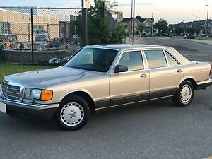 1989 Mercedes Benz 420 SEL,Certified,E-tested