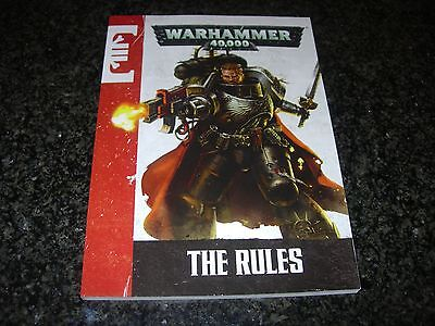 Warhammer 40k Rule Book - Death Watch Captain Artemis Cover (new; unused)