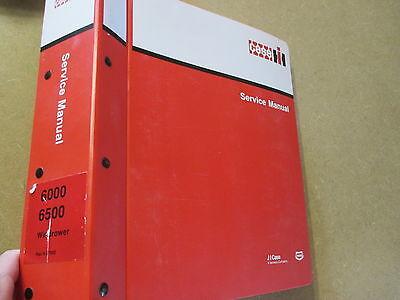 Case International Repair Manual - Case International 6000 6500 windrower service & repair manual
