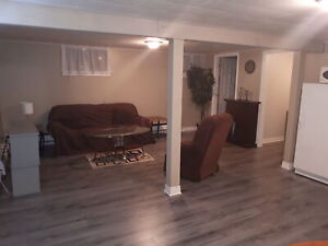 Furnished bachelor apartment - May 1st