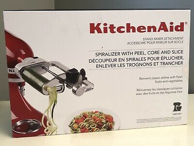 KitchenAid stand Mixer Attachment Spiralizer With Peel, Core & Slice BRAND NEW