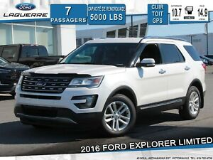 2016 Ford Explorer LIMITED*CUIR*GPS*CAMERA*BLUETOOTH*A/C**