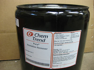 Chem Trend Insulation Remover 5 Gallon Can Spray Foam Rig Mask Gun Machine