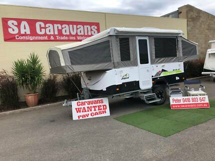 2014 JAYCO EAGLE OUTBACK CAMPER with AIR COND. and ANNEX WALLS Klemzig Port Adelaide Area Preview