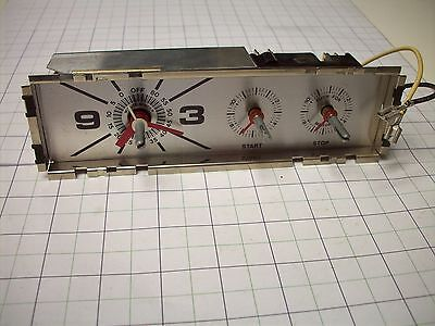 New Magic Chef Range Clock Assembly Part# 1895-435 / 7601P037-60