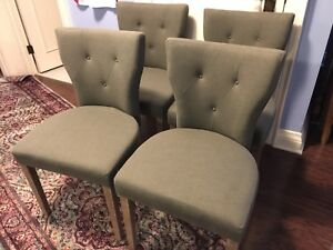 West Elm Dining Chairs from Condo Showroom