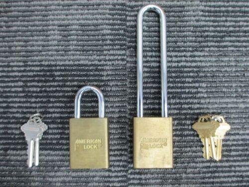 #722 American Padlock 3600S Combo Pack