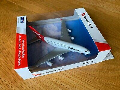 Qantas Airlines Druckguss Metall Modell Airbus A380 Australien Neu Livree A380