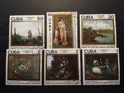 Briefmarken Welt Amerika Karibik Motiv Gemälde Malerei Kunst Stamps Art