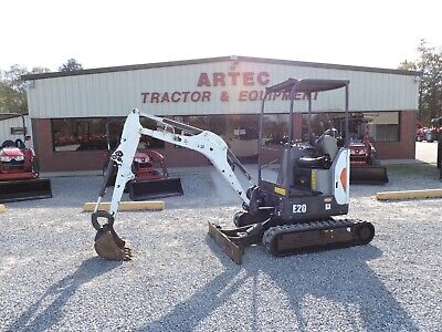 2016 Bobcat E20 Min Excavator - Good Condition - Watch Video - Only 983 Hours