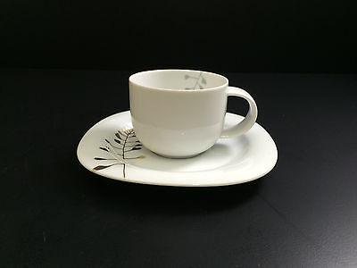 ROSENTHAL Suomi Celebration High Cup; 6oz & Saucer  ()