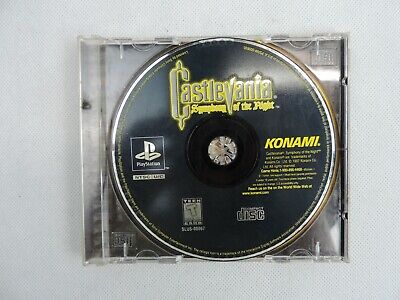 Castlevania Symphony of the Night DISC & Case Art ONLY Tested Works Playstation Castlevania Symphony Of The Night Playstation